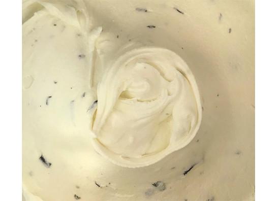 Fresh mint and chocolate gelato