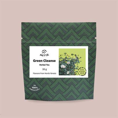 Metta green cleanse herbal tea
