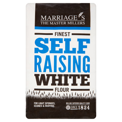 Finest self raising white 1.5kg