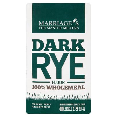 Dark rye 1kg