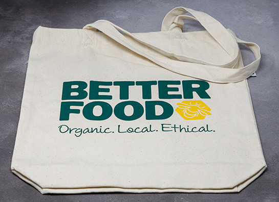 Better food tote bag gs better food prod 9614