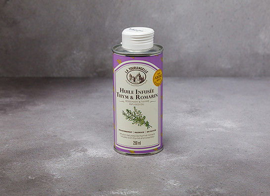 La tourangelle  rosemary and thyme infused oil gs armadeli stroud prod 938