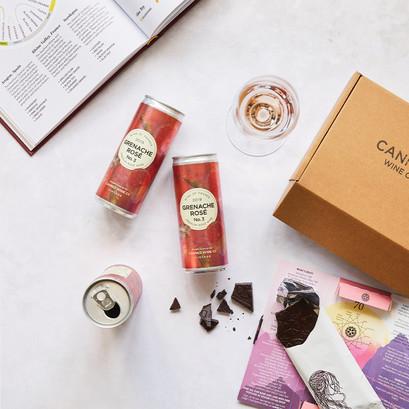 Grenache rose gift box