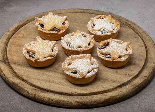 Mince pies box of 6 gs better food prod 7983